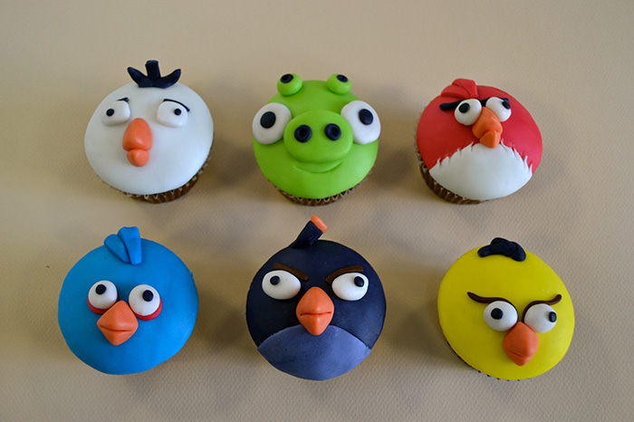 cupcakes engry birds